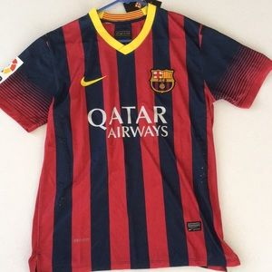 Nike Qatar Airways FCB jersey
